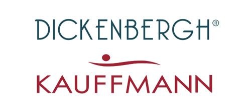 Dickenbergh en Kauffmann logo's