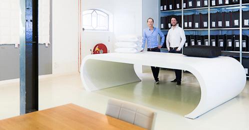 Ons kantoor en showroom in Leiden