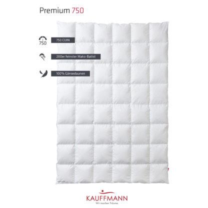 Kauffmann Premium 750 dekbed