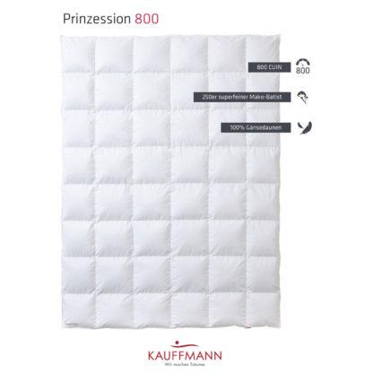 Kauffmann Prinzessin 800 dekbed
