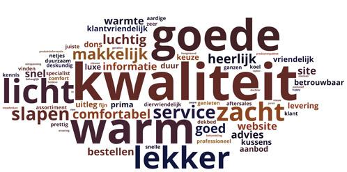 Resultaten klantonderzoek donzendekbed.nl