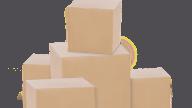 Stapel pakketten